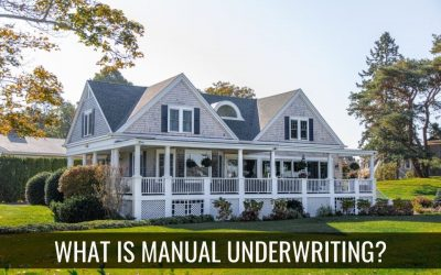What is Manual Underwriting?